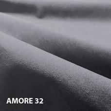 Велюр мебельная ткань для обивки amore 32 anthracite,  антрацит
