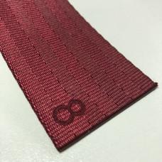 Лента ремня безопасности  08 вишневая