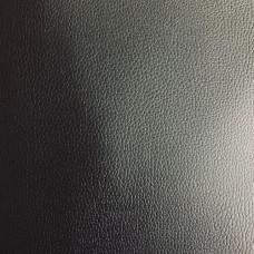 Искусственная кожа для деталей обуви черная (арт.262, винилуретанискожа, 18 гр п/м, бязь)