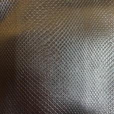 Искусственная кожа змея коричневая глянцевая т/п 0,9 мм (цв 797, 14 гр)