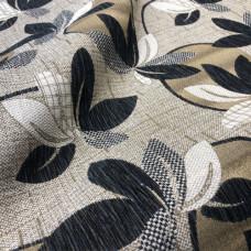 Мебельная ткань шенилл santa-linda 692, серо-бежевый