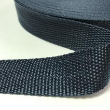 Лента окантовочная стропа для ковриков темно-синяя