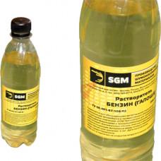 """Растворитель-обезжириватель бензин """"Галоша"""" 0,5 л SGM"""