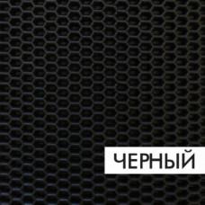 Ковролин эва, материал eva для автомобильных ковриков  соты черный