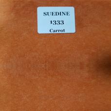 Микровельвет ткань для мебели suedine 1333 carrot